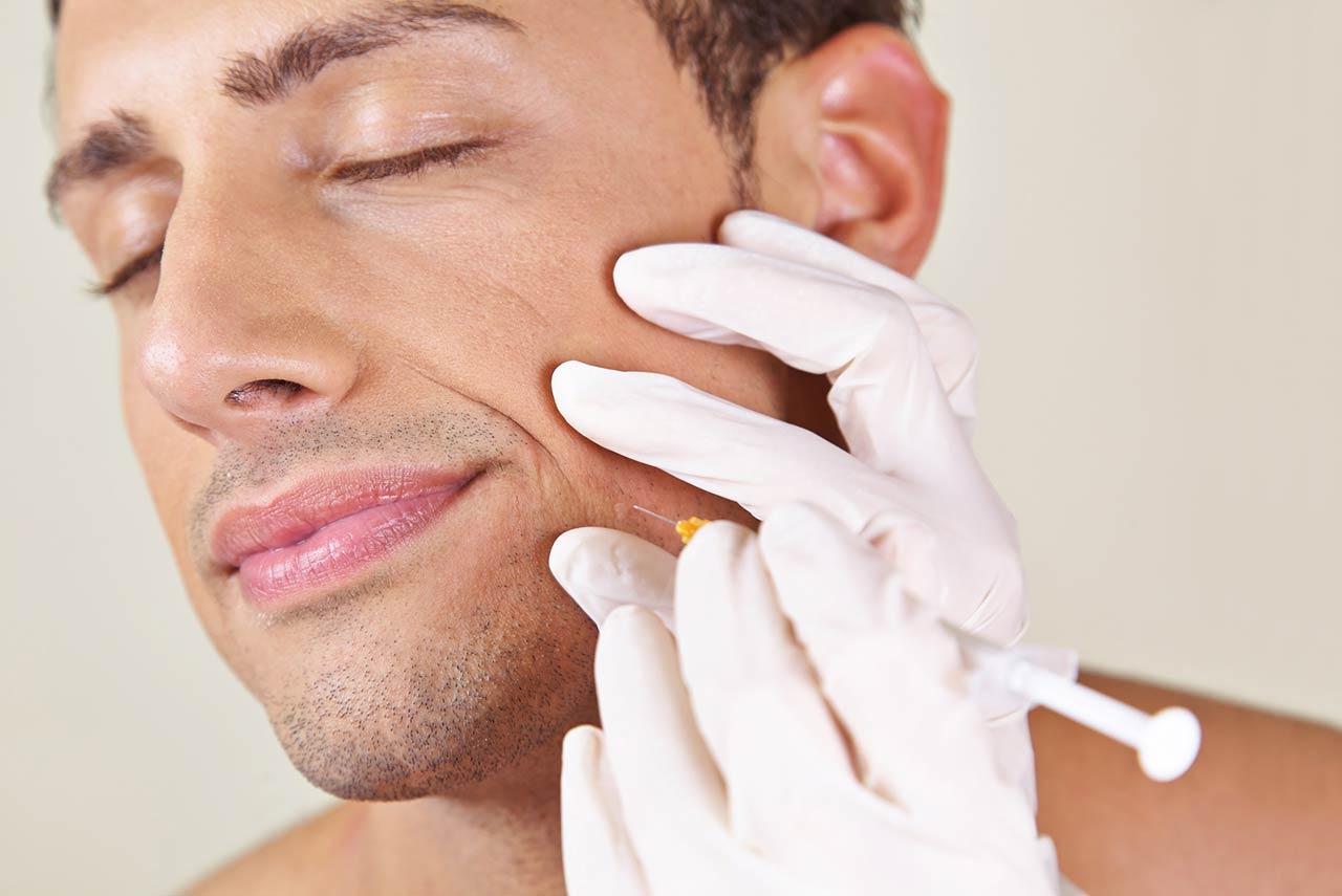 Botox, Faltenbehandlung, Hyaluronsäure