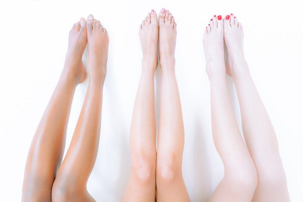 Die Behandlung ist bei allen Hauttypen möglich
